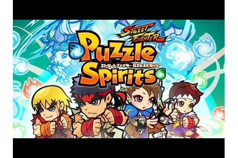 Street Fighter: Puzzle Spirits (JP) - Game trailer - YouTube