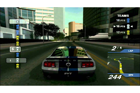 Ford Street Racing Gameplay PL - YouTube