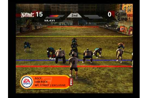 NFL Street 2 Pick up Game - YouTube