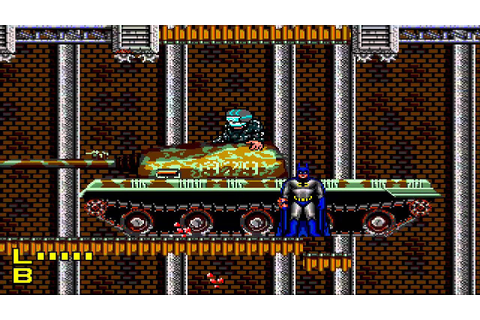 1992 Batman: Return of the Joker SEGA Genesis Old School ...