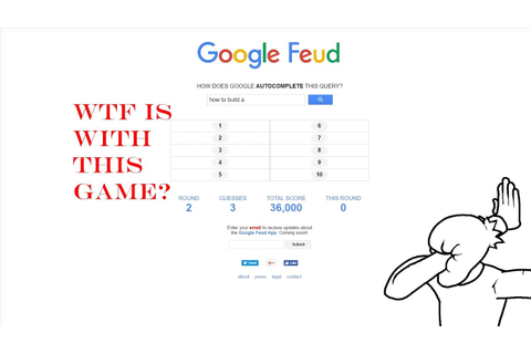 Google Feud Sucks!! - YouTube
