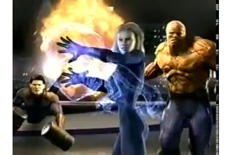 Fantastic Four (2005) The Game Commercial - YouTube