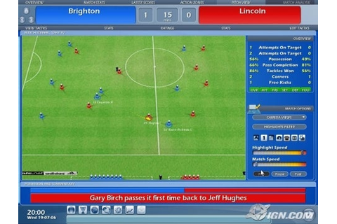 Championship Manager 2007 Review - IGN