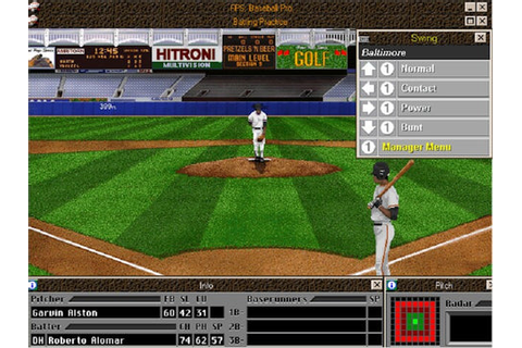 FRONT PAGE SPORTS BASEBALL '98 +1Clk Windows 10 8 7 Vista ...