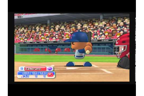 MLB Power Pros 2008 (Wii) NLCS Game #3 Cubs @ Reds - YouTube
