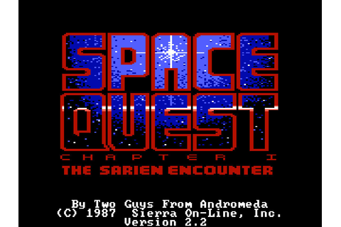Space Quest: The Sarien Encounter – Sierra Classic Gaming
