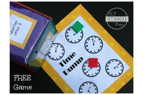 Time Bump Clock Game