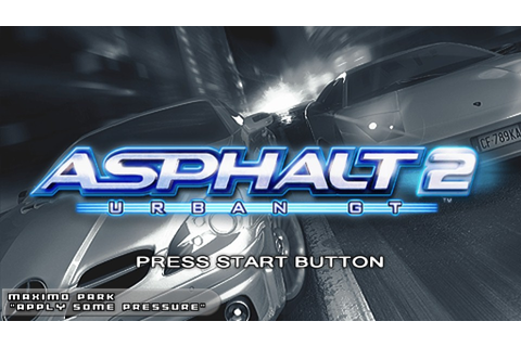 Download Asphalt Urban GT 2 ISO CSO PSP | Senpaigame ...