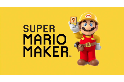 Mario Maker renamed Super Mario Maker - Gematsu