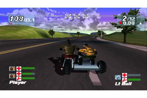 Road Rash Jailbreak SideCar (Co op) gameplay - YouTube