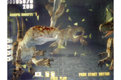 Lost World: Jurassic Park, The - Videogame by Sega
