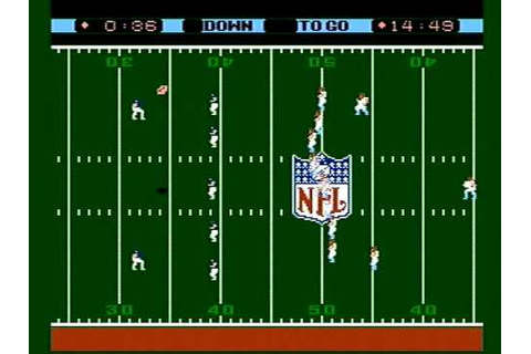 Nintendo NES NFL Football Game (Intro) - YouTube