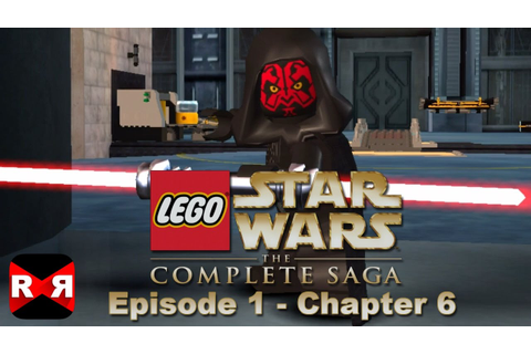 LEGO Star Wars: The Complete Saga - Episode 1 Chp. 6 - iOS ...