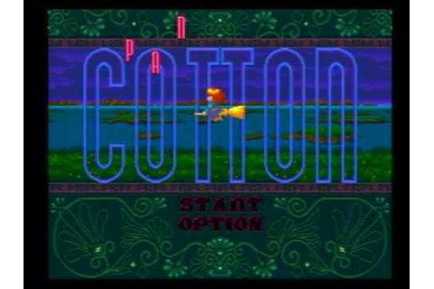 Panorama Cotton Gameplay (Sega Genesis/MD) - YouTube
