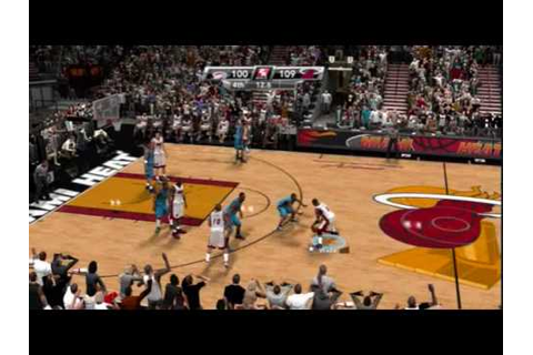 NBA 2K9 PC Thunder @ Heat 2016 Finals Game 7 Q4 2/2 - YouTube
