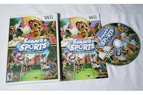 Summer Sports: Paradise Island Nintendo Wii COMPLETE VIDEO ...