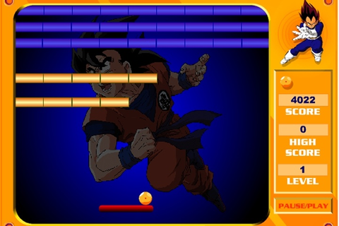 Dragon Ball Z Break Out Game - Dragon Ball games - Games Loon