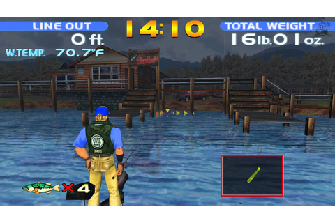 Let's play SEGA Bass Fishing (PC game on Steam) 1080p ...