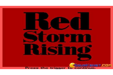 Red Storm Rising gameplay (PC Game, 1988) - YouTube