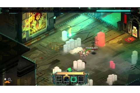 First 20 Minutes of Transistor - Indie Game Insider First ...