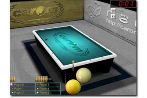 Caiman free games: Carom 3D by Neoact.