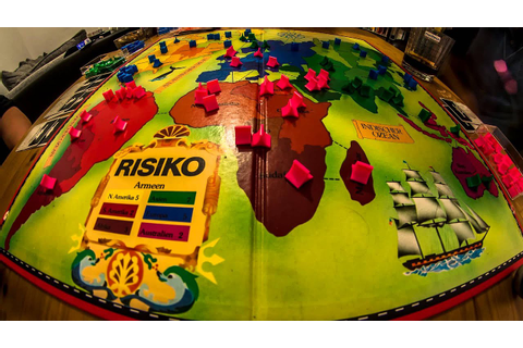 Board Game Time Lapse - RISIKO - YouTube