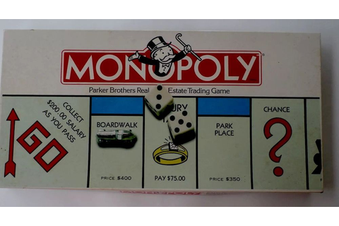 Used VINTAGE (1985) Monopoly Game by Parker Brothers ...