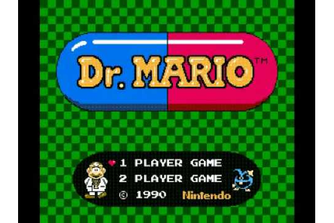 Dr. Mario (NES) Music - Title Theme - YouTube
