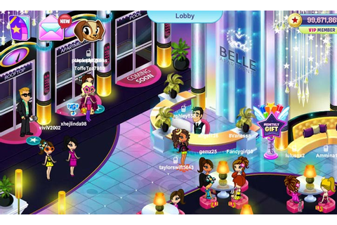 Games Like Miss Bimbo - Virtual Worlds for Teens