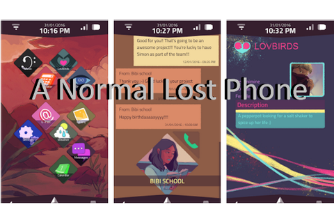 A Normal Lost Phone Full APK Game for Android Free Download