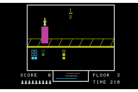 Fraction Fever (1984) by Spinnaker Software ColecoVision game
