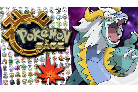 OVER 200+ NEW POKEMON! - Pokémon Sage Full Pokedex ...