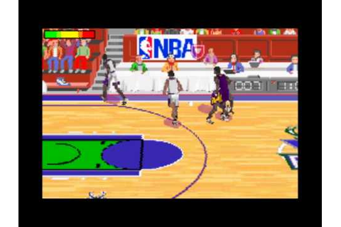 NBA Jam 2002 (Game Boy Advance)- Gameplay - YouTube