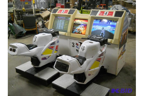 Namco Suzuka 8 Hours Motorcycle Arcade Game | Arcade and ...