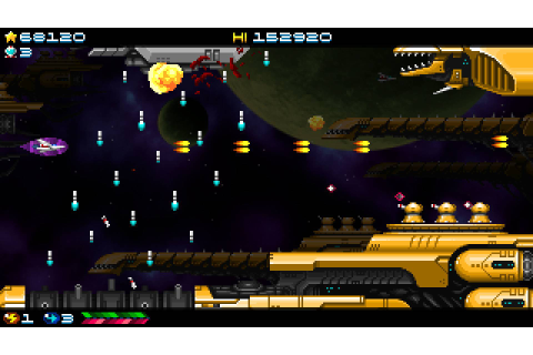Super Hydorah Coming To PS Vita & PS4 On December 13, 2017 ...