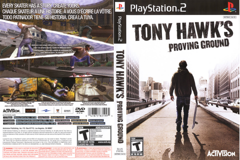 Tony Hawk's Proving Ground | PS2 ~ HOT BLOGUER