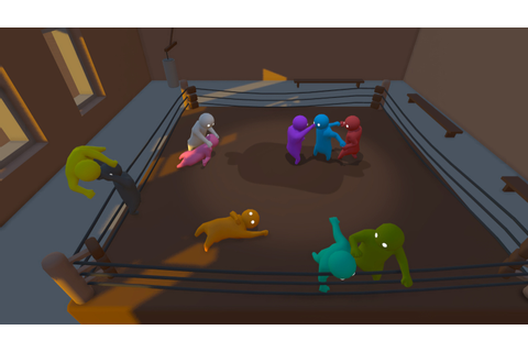 Gang Beasts - one minute GAME review - YouTube