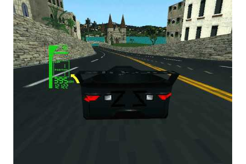 DOS Game: XCar - Experimental Racing - YouTube