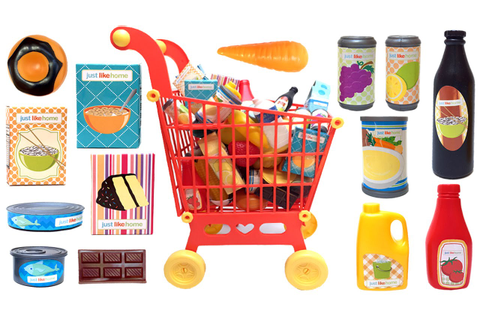 Just Like Home Mega Grocery Playset - Supermarket Game ...