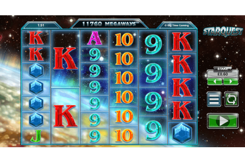 Play Starquest Slot Game Here | 10 Free Spins No Deposit