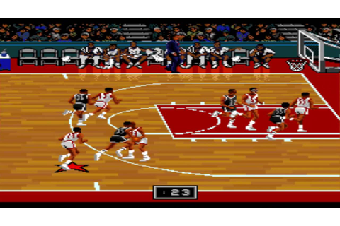 NBA Showdown SNES Gameplay HD - YouTube