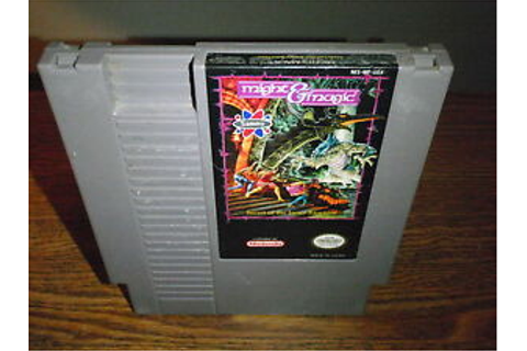 Might & Magic Secret of the Inner Sanctum Nintendo NES ...