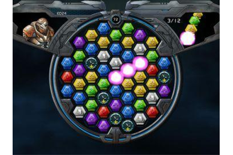 Full Puzzle Quest Galactrix version for Windows.
