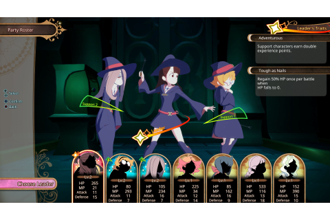 Little Witch Academia: Chamber of Time launches on May 15 ...