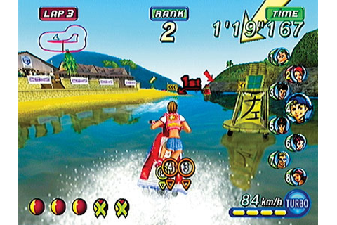 Wave Race: Blue Storm (2001) by Nintendo Software ...