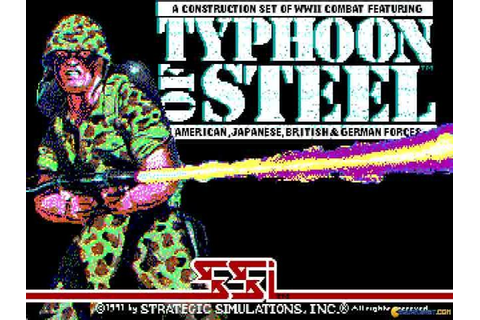 Typhoon of Steel download PC