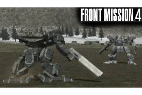 Front Mission 4 ... (PS2) - YouTube
