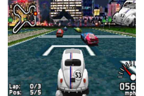 Game Boy Advance - Herbie - Fully Loaded (2005) - YouTube