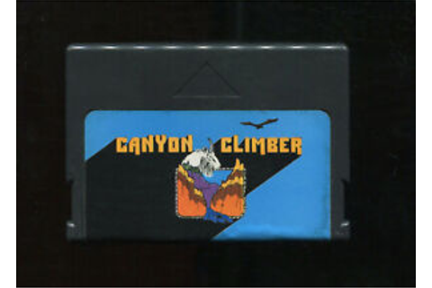 CANYON CLIMBER Video Game Cart TRS-80 Color Computer CoCo ...