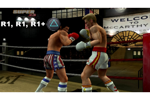 Rocky legends (PS2) Super Triple Punch Tutorial - YouTube